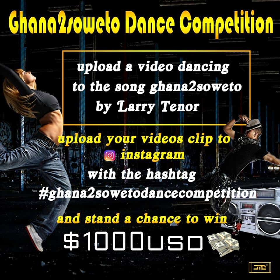 Following the release of his 3rd single, upcoming Nigerian musician, Larry Tenor, has decided to put his 3rd song up for a dance competition. It's the end